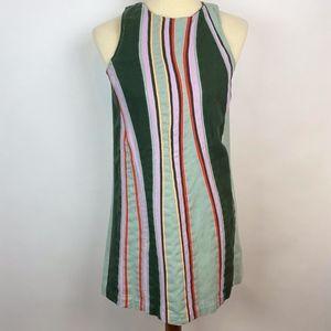 Anthropologie Maeve Striped Dress XS